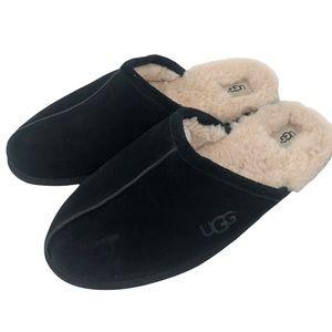 Men's Ugg Black Slippers Size 16